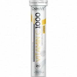 OstroVit Vitamin C 1000 20 tab - lemon