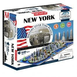 Wiky 4D PUZZLE Cityscape Time panorama New York