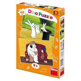 Dino Puzzle 2 x 48 - Večerníčky