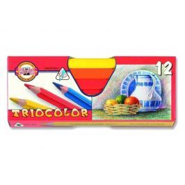 Pastelky 3152/12 Triocolor