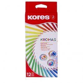 Trojhranné pastelky KROMAS 12ks