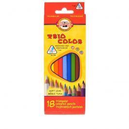 Pastelky 3133/18ks Trio Color trojb.