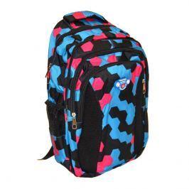 Wiky Školní batoh motiv šestiúhelník