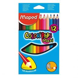Pastelky Maped 12ks trojhr.jumbo