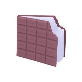 Wiky Notes čokoláda 9,8x8,5cm - 80 listů