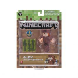 MINECRAFT figurka Alex v kožené zbroji