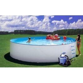 Bazén Steinbach Nuovo 4,5 x 1,2m s kovovou konstrukcí, vč. písk. filtrace Clean 50