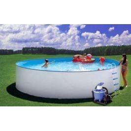 Bazén Steinbach Nuovo 3,5 x 1,2m s kovovou konstrukcí vč. písk. filtrace 5,5 m3/h