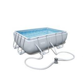 Bazén Bestway s konstrukcí 2,82 x 1,96 x 0,84m písková filtrace 2m3/hod
