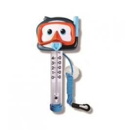 Teploměr plovoucí - Tučňák s brýlemi a šnorchlem