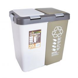 Koše na tříděný odpad, 2x10 l ORION