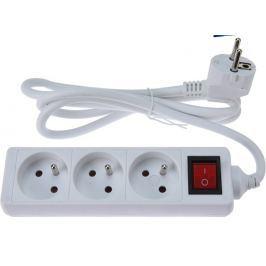 PROGARDEN Prodlužovací kabel 3 zásuvky s vypínačem 1,5 m KO-KT7000130