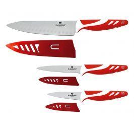 BLAUMANN Sada nožů Blaumann s nepřilnavým povrchem 3 ks červená BL-5027