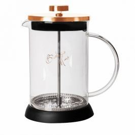 Konvička na čaj a kávu French Press 800 ml Rosegold Metallic Line BERLINGERHAUS BH-1495