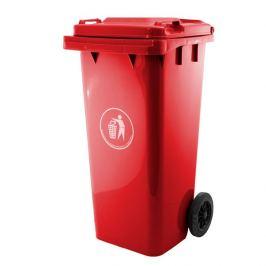 Popelnice plastová 240 litrů GA-240, červená