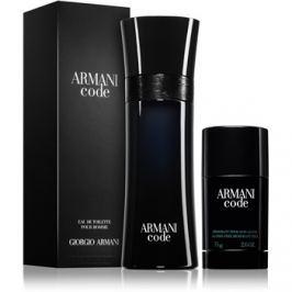 Armani Code dárková sada – výhodné balení  toaletní voda 125 ml + deostick 75 g