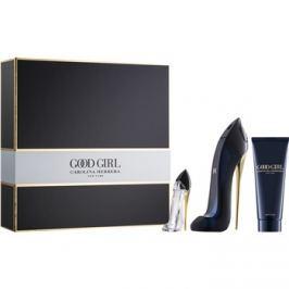 Carolina Herrera Good Girl dárková sada III.  parfémovaná voda 50 ml + parfémovaná voda 7 ml + tělové mléko 75 ml