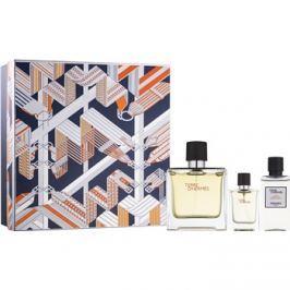 Hermès Terre d'Hermès dárková sada XX.  parfém 75 ml + 12,5 ml + balzám po holení 40 ml