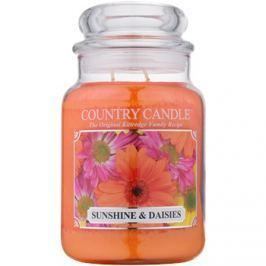 Kringle Candle Country Candle Sunshine & Daisies vonná svíčka 652 g