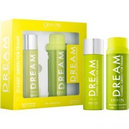Odeon Dream Classic Green dárková sada I.  parfémovaná voda 100 ml + deodorant ve spreji 150 ml