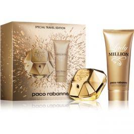 Paco Rabanne Lady Million dárková sada VIII.  parfémovaná voda 80 ml + tělové mléko 100 ml