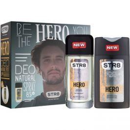 STR8 Hero dárková sada  sprchový gel 250 ml + deodorant s rozprašovačem 85 ml