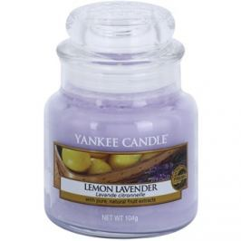 Yankee Candle Lemon Lavender vonná svíčka 104 g Classic malá