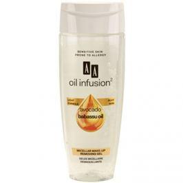 AA Cosmetics Oil Infusion2 Avocado Babassu micelární odličovací gel na obličej a oči  200 ml