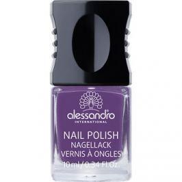Alessandro Nail Polish lak na nehty odstín 932 Violet Sky 10 ml