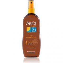 Astrid Sun olej na opalování ve spreji SPF 20  200 ml