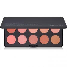 BHcosmetics Nude Blush paleta tvářenek  37 g