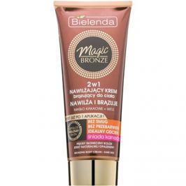 Bielenda Magic Bronze samoopalovací krém pro snědou pokožku s hydratačním účinkem  200 ml