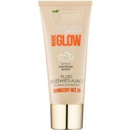 Bielenda Total Look Make-up Nude Glow rozjasňující fluidní make-up odstín Sunny Beige 03 30 g