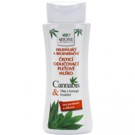 Bione Cosmetics Cannabis zklidňující čisticí mléko  255 ml