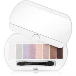 Bourjois Les Nudes paleta očních stínů 8 barev odstín 01 Les Nudes 4,5 g