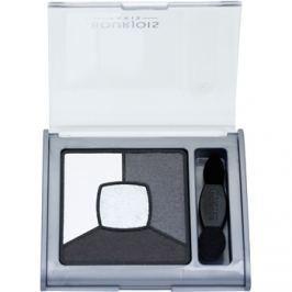 Bourjois Smoky Stories paleta kouřových očních stínů odstín 01 Grey & Night 3,2 g