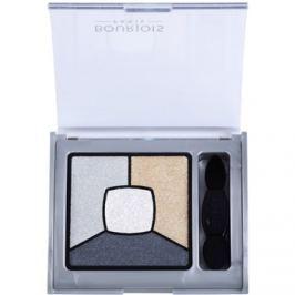 Bourjois Smoky Stories paleta kouřových očních stínů odstín 09 Grey-Zy In Love 3,2 g