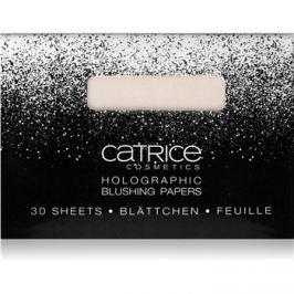 Catrice Dazzle Bomb holografická papírová tvářenka odstín 01 Champagne Showet 30 ks