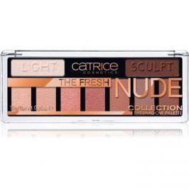 Catrice The Fresh Nude Collection oční stíny odstín 010 Newly Nude 10 g
