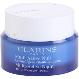 Clarins Multi-Active noční revitalizační obnovující krém pro normální až smíšenou pleť  50 ml