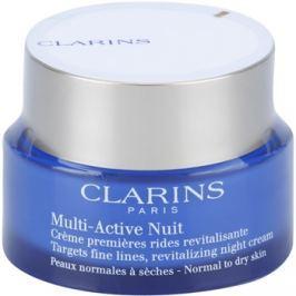 Clarins Multi-Active noční revitalizační krém na jemné linky pro normální a suchou pleť  50 ml