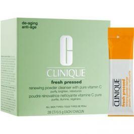 Clinique Fresh Pressed čisticí pudr s vitaminem C  28 x 0,5 g