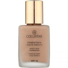 Collistar Foundation Perfect Wear voděodolný tekutý make-up SPF 10 odstín 7 Caramel  30 ml
