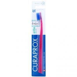 Curaprox Ortho Ultra Soft 5460 ortodontický zubní kartáček pro uživatele fixních rovnátek