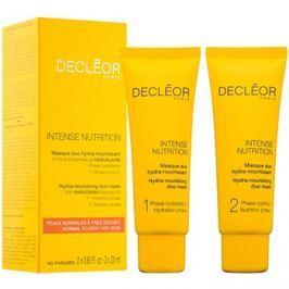 Decléor Intense Nutrition hydratační a vyživující pleťová maska duo  2 x 25 ml