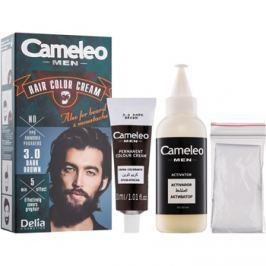 Delia Cosmetics Cameleo Men barva na vlasy odstín 3.0 Dark Brown 30 ml
