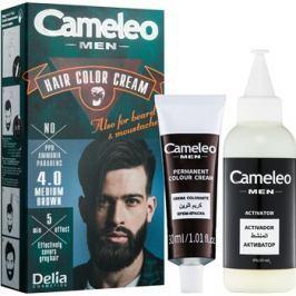 Delia Cosmetics Cameleo Men barva na vlasy odstín 4.0 Medium Brown 30 ml