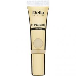 Delia Cosmetics Concealer korektor proti otokům a tmavým kruhům odstín Yellow 10 ml