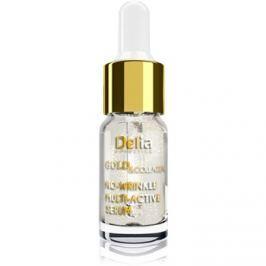 Delia Cosmetics Gold & Collagen Rich Care protivráskové rozjasňující sérum  10 ml