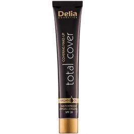 Delia Cosmetics Total Cover voděodolný make-up SPF 20 odstín 53 Porcelain 25 g